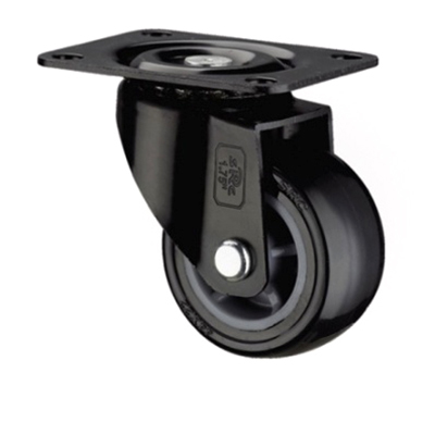 Light Duty Black Polyurethene Caster Wheel