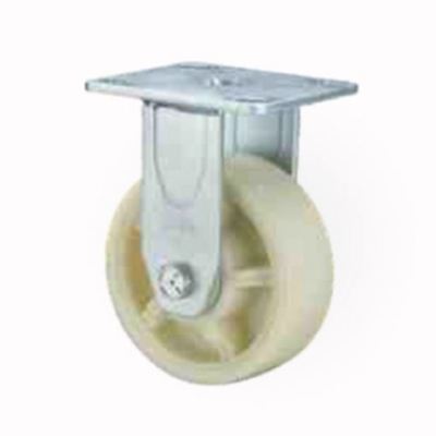Heavy Duty Polypropelene Milky White Caster Wheel
