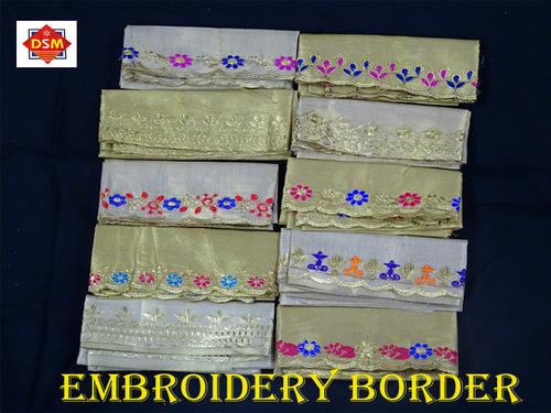 EMBROIDERY BORDER PCS