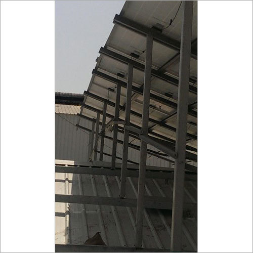 Solar Panel Module Mounting Structure