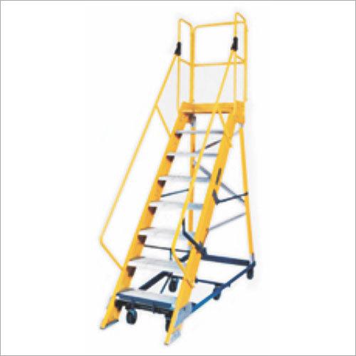 Fiberglass Mobile Platform Ladders
