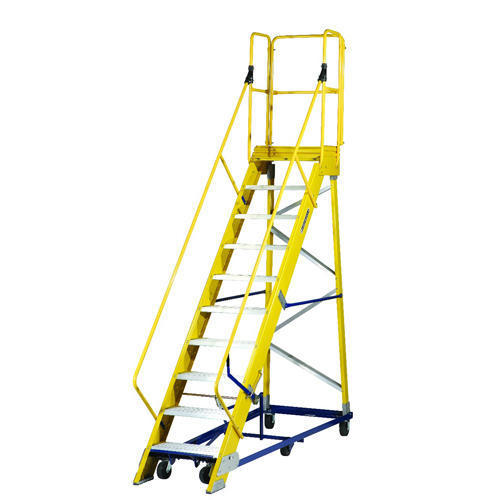 Warehouse Mobile Platform Ladders