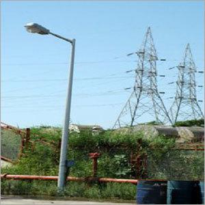 Fiberglass Light Pole