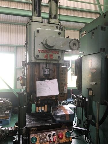 Used AMADA 45 Ton Press Machine