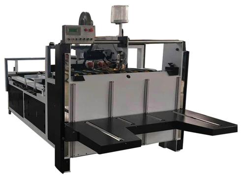 Height Of Feeding Paper 900 Semi Automatic Corrugated Box Folder Gluer Machine