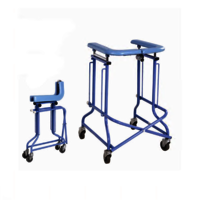 Walking Frame With Seat And Brake