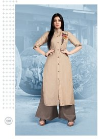 Cotton Kurti with palzzo