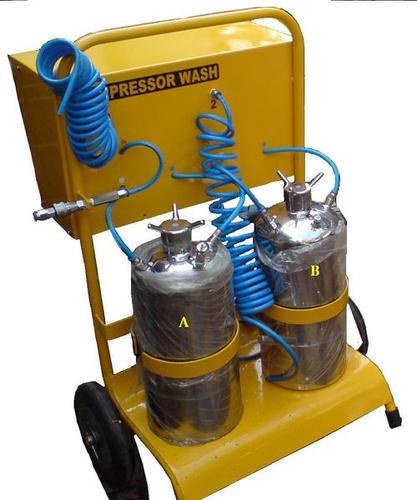 Compressor Wash Rig