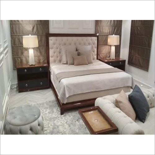 Bed With Two Side Table