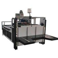 Electric Semi Auto Folder Gluer / Carton Folder Gluer Machine CE Approved