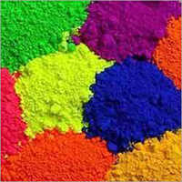 Fluorescent Pigments For Textile Printing And Dyeing