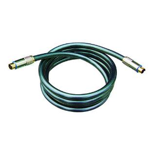 SH10-2106 S-SH10-2106 S-VHS cable, MD4P plug to MD4P plug, MD4P plug to MD4P plug