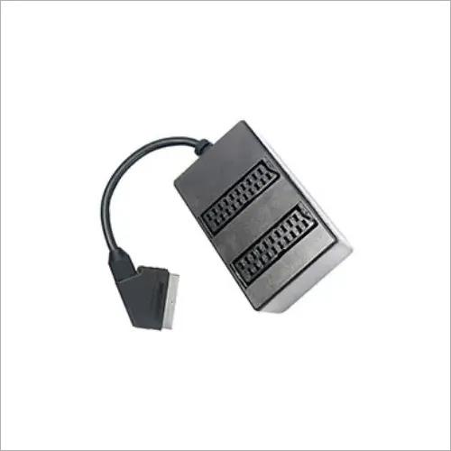 SH10-3630 SCART Plug to 2*SCART Sockets