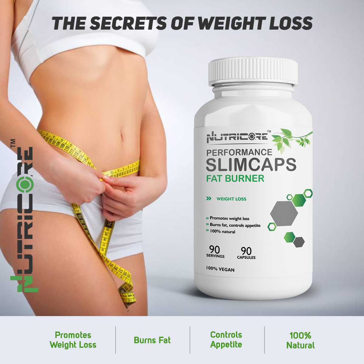 Slimcaps Fat Burner Weight Loss Capsules