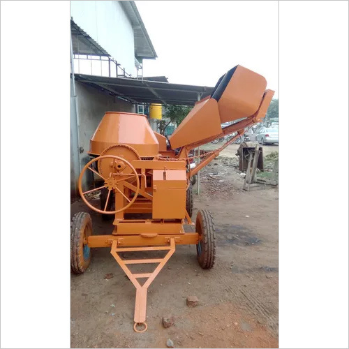 Digital Hydraulic Concrete Mixer Machine