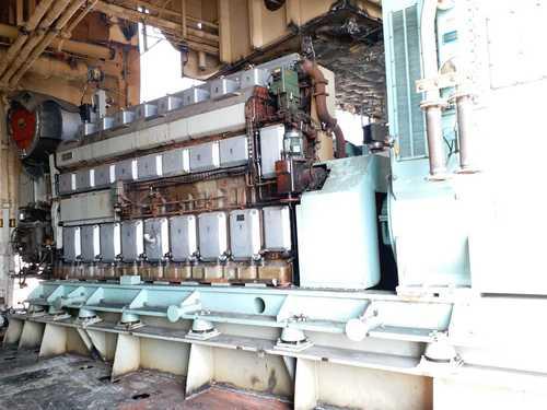 Wartsila 8R32LND Diesel Generator Set
