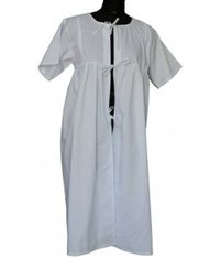 Nurse Gown Blue & White