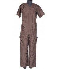 Nursing Suit Brown