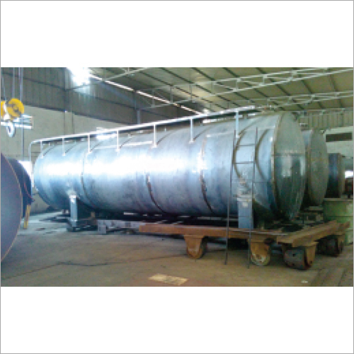 Primary Oil Storage Tank