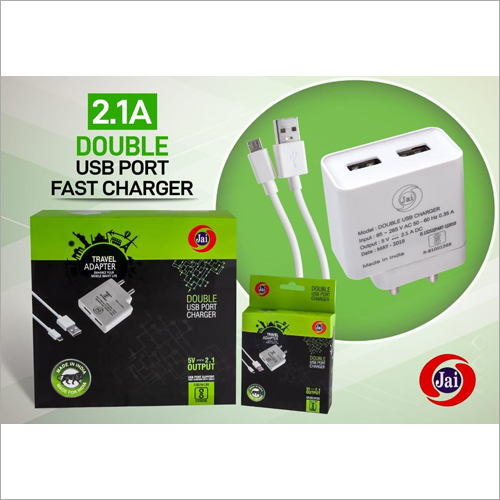2 USB Port Mobile Charger