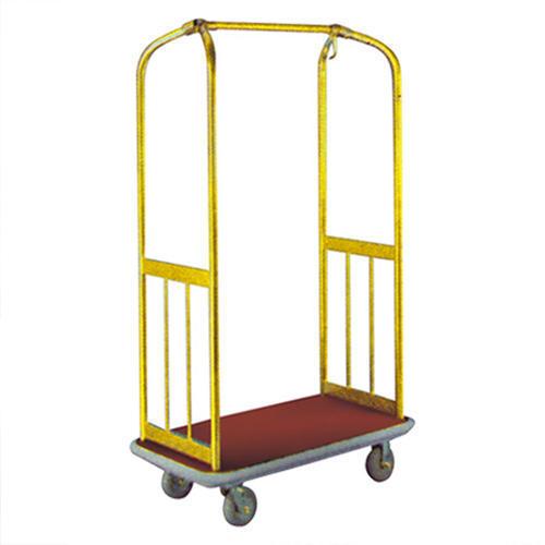 Brass Luggage Cart