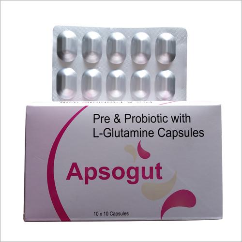 Pre And Probiotic with L Glutamine Capsule