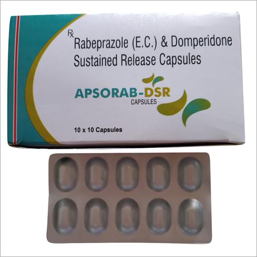 Rabeprazole (E.C.) And Domperidone Sustained Release Capsule