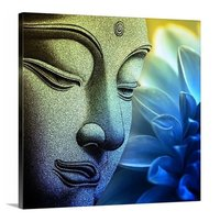 Buddha Wall Art Square Painting