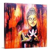 Buddha Square Painting