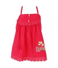 Amelia Red Frock