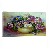 Beautiful Flower Pot Painting
