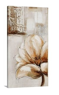 Natural Flower Painting (Set Of 3 )