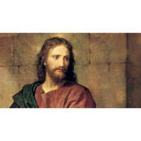 Lord Jesus Portrait Painting
