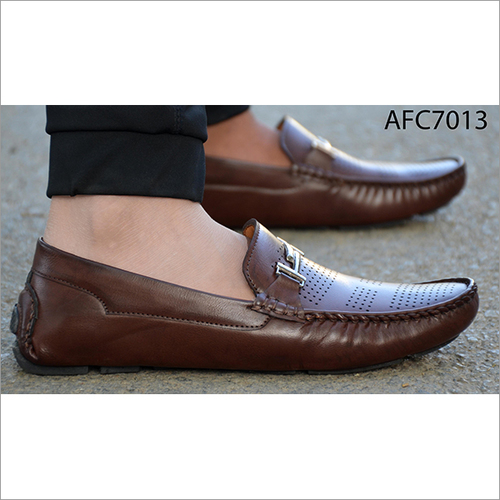 Mens Plain Ortho Comfort Loafer Shoes