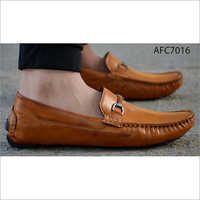 Mens Brown Ortho Comfort Loafer Shoes