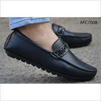 Mens Black Ortho Comfortable Loafer Shoes