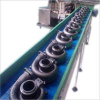 Semi Automatic Material Handling Conveyor