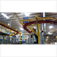 Paint Shop Material Handling Conveyor