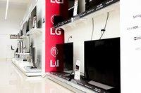 Large TV Display Rack