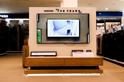 TV Wall Panel Display Rack