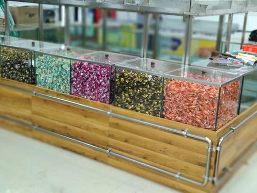 Transparent Glass Store Box