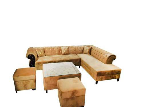 Corner L Shape Sofa Set