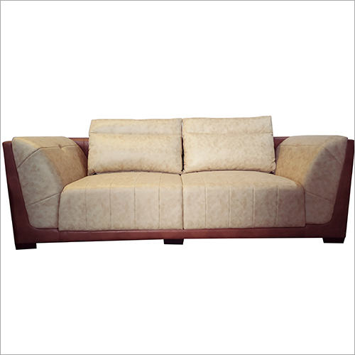 Leather Two Seater Sofa Set
