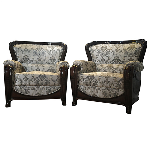 Living Room Single Seater Sofa Set
