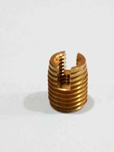 Brass Slotted Self Tapping Inserts
