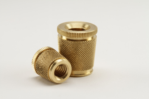 Brass Tapered Knurling Inserts