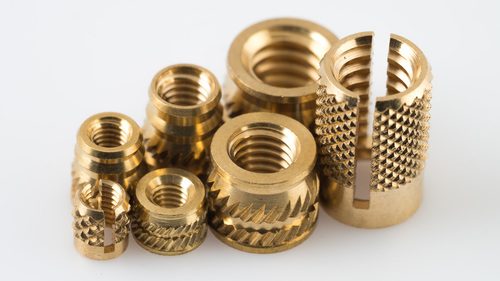 Brass Threaded Inserts For Wood & Plastic