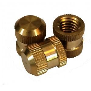 Brass DIN Standard Moulding Inserts