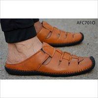 Mens Fancy Leather Sandal