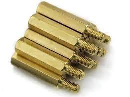 Brass Solid Standoffs